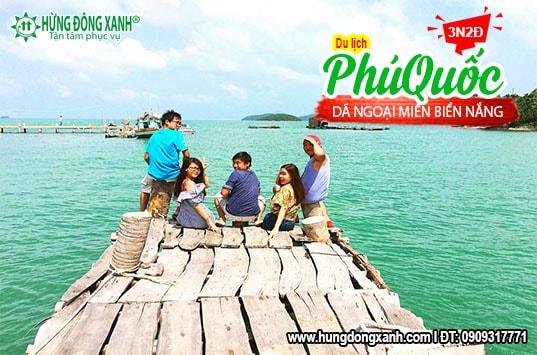 Tour Phú Quốc 3N2Đ: Biển và Nắng