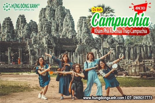 Du lịch Campuchia . Khám phá xứ Chùa Tháp huyền bí