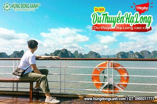 Tour du thuyền Hạ Long 1 ngày