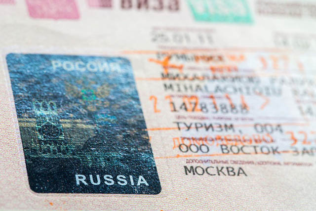 Dịch vụ làm visa đi Nga 2019