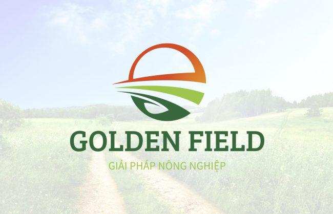 Thiết kế logo công ty GOLDEN FIELD