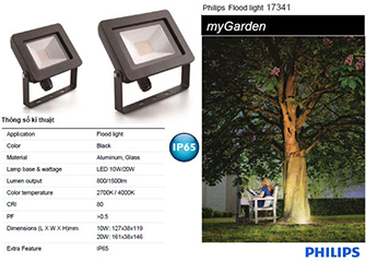 Đèn pha led Floodlight MyGarden Philips