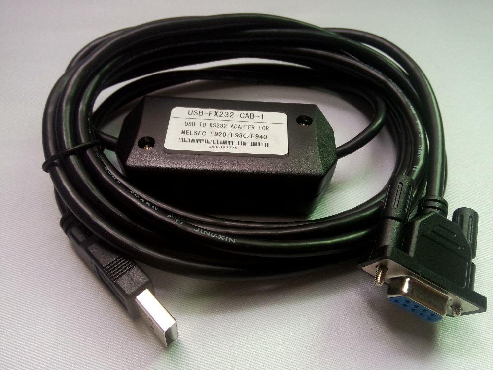 Cáp USB-FX232-CAB Lập Trình Cho F920/F930/F940 HMI Mitsubishi