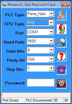 Phần Mềm Crack Password FP2 PLC Nais