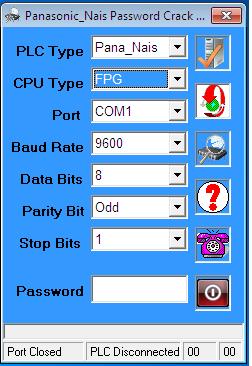 Phần Mềm Crack Password FPG/FP Sigma PLC Nais