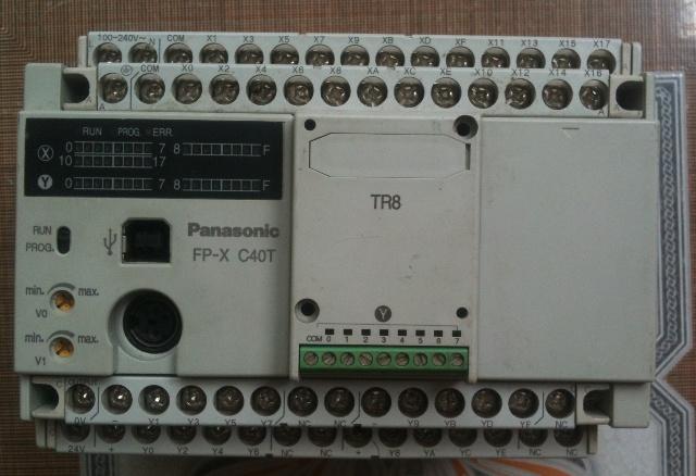 Crack Password FP-X PLC Panasonic