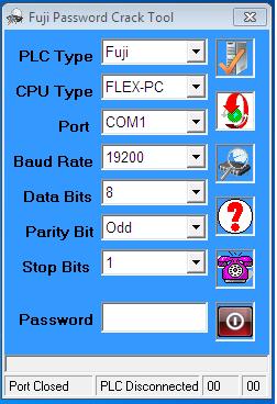 Phần Mềm Crack Password NB/SPB Series PLC Fuji