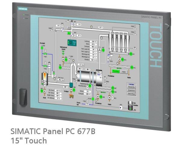 LCD Màn Hình PC670/677-15