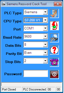 Phần Mềm Crack Password S7-200 V02.00 PLC Siemens