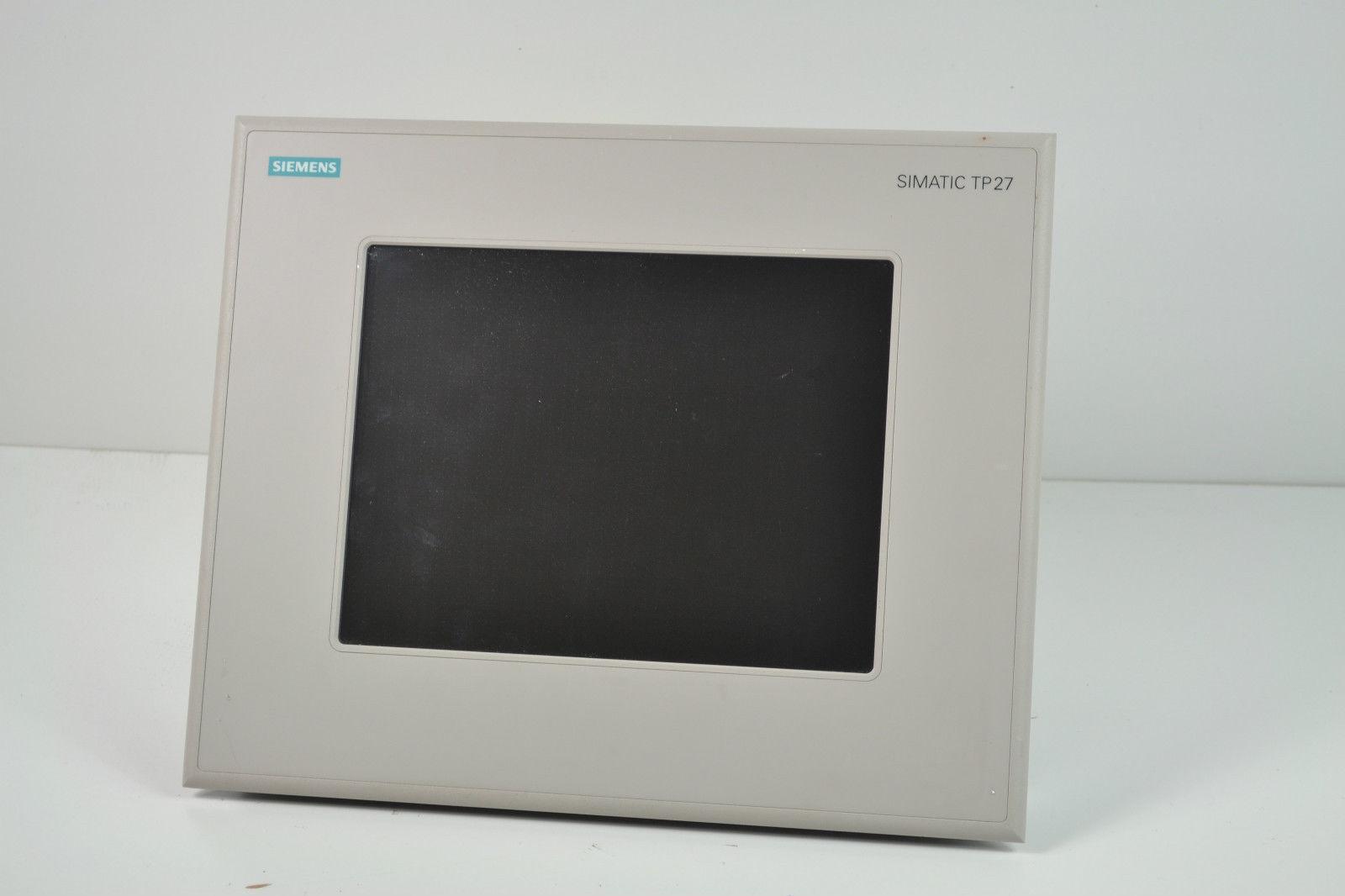 Thay Thế Cảm Ứng Màn Hình TP27 HMI Siemens