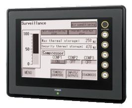 LCD Màn Hình UG221 Mono HMI Fuji