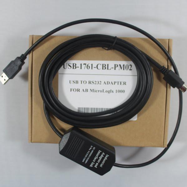 Cáp USB-1761-PM02-CBL Lập Trình Cho MicroLogix1000 PLC AB