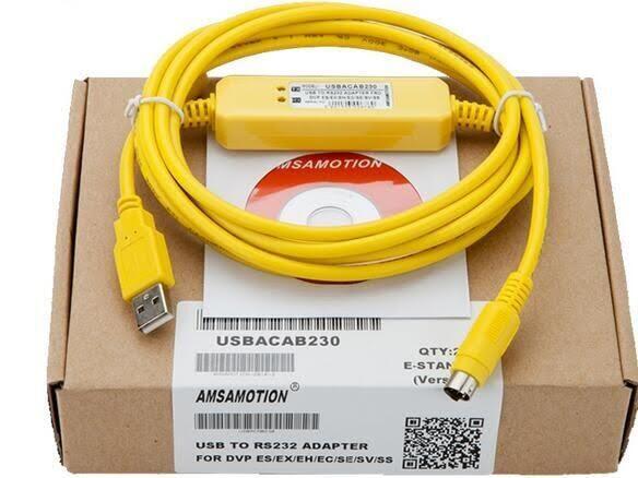 Cáp USB-ACAB230 Lập Trình Cho DVP PLC Delta