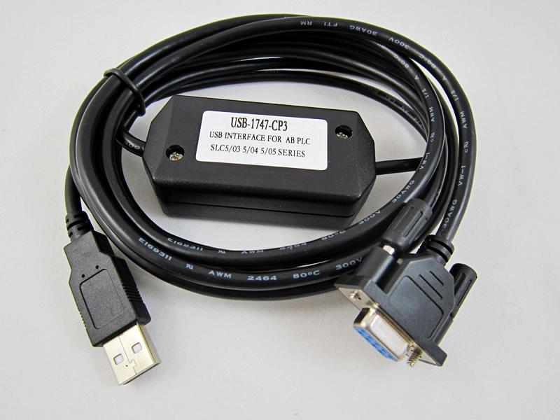Cáp USB-1747-CP3 Lập Trình Cho SLC500 PLC AB
