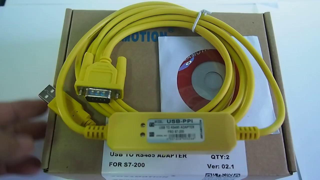 Cáp USB-PPI Lập Trình Cho PLC S7-200