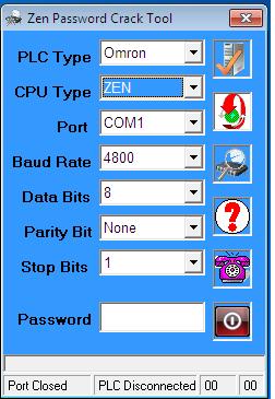 Phần Mềm Crack Password ZEN PLC Omron