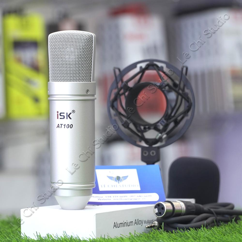 Micro Thu Âm ISK AT100 - Giá 660K
