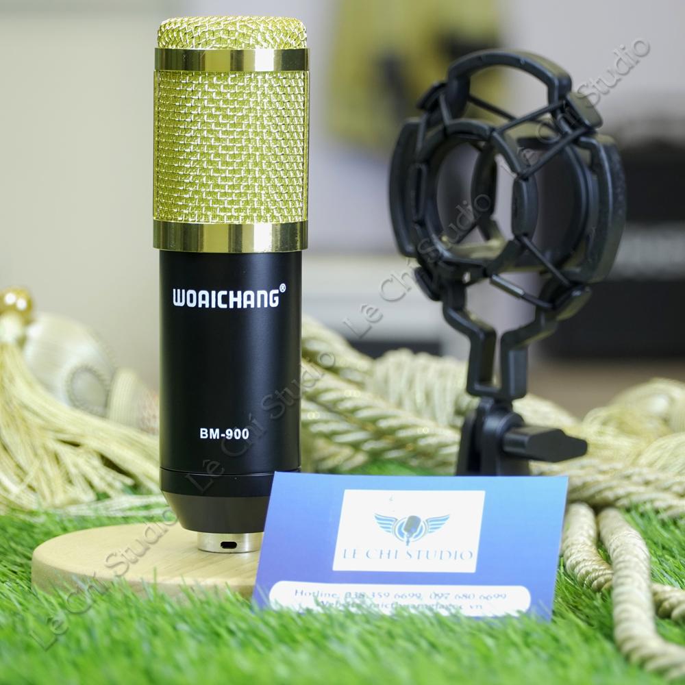 Micro Thu Âm BM 900 - Giá 290K