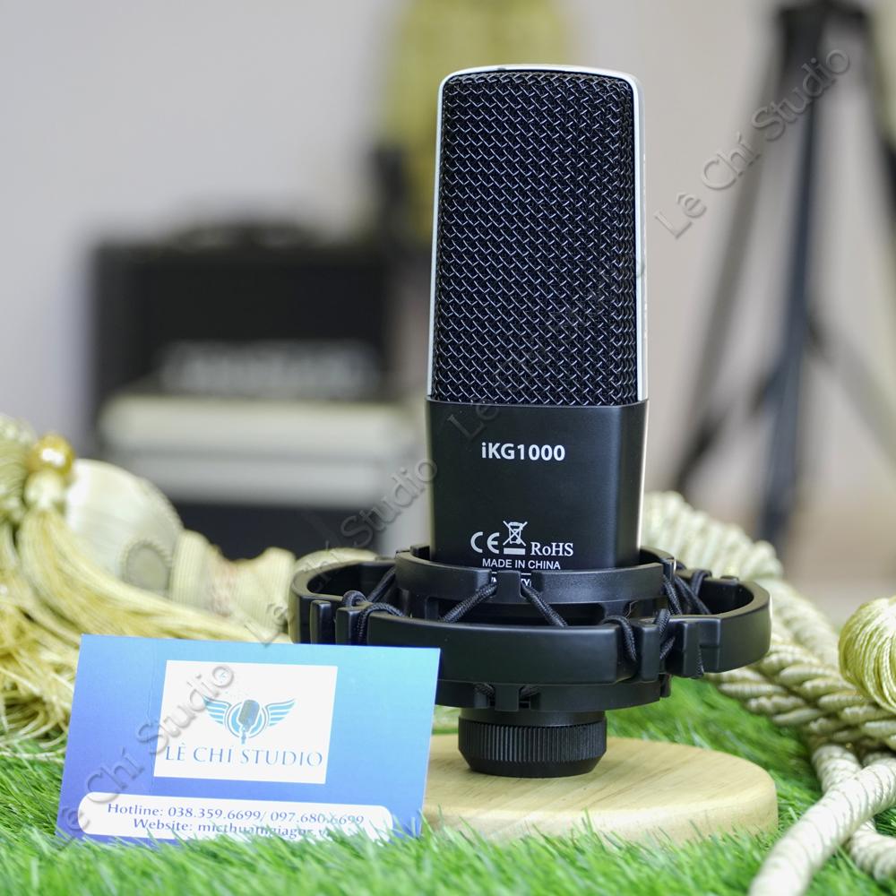 Micro thu âm chính hãng ISK IKG1000 - Giá 1690k