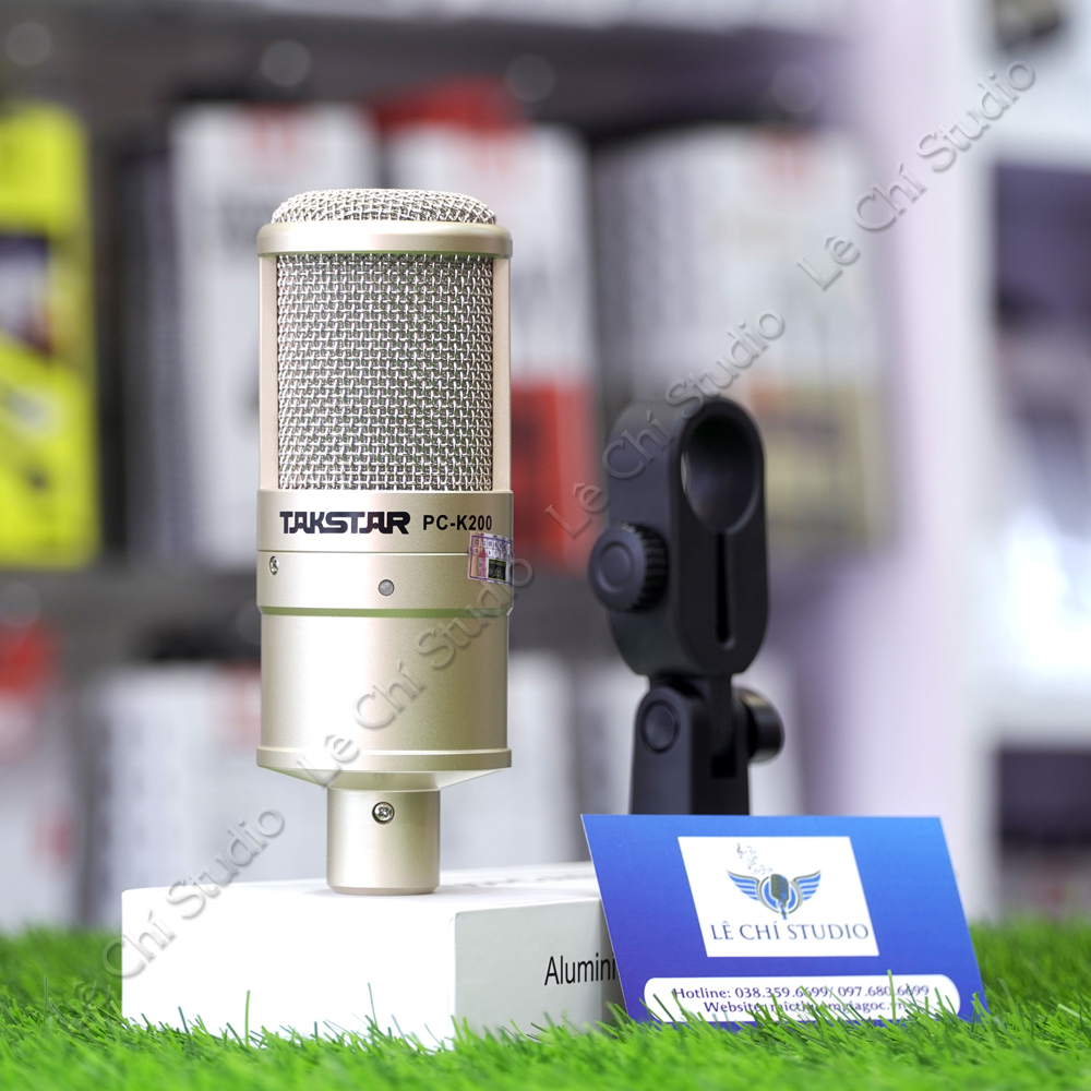 Micro Thu Âm Takstar PC K200 - Giá 690K