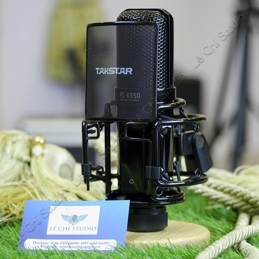 Micro Thu Âm Takstar PC K850 - Giá 2.750K