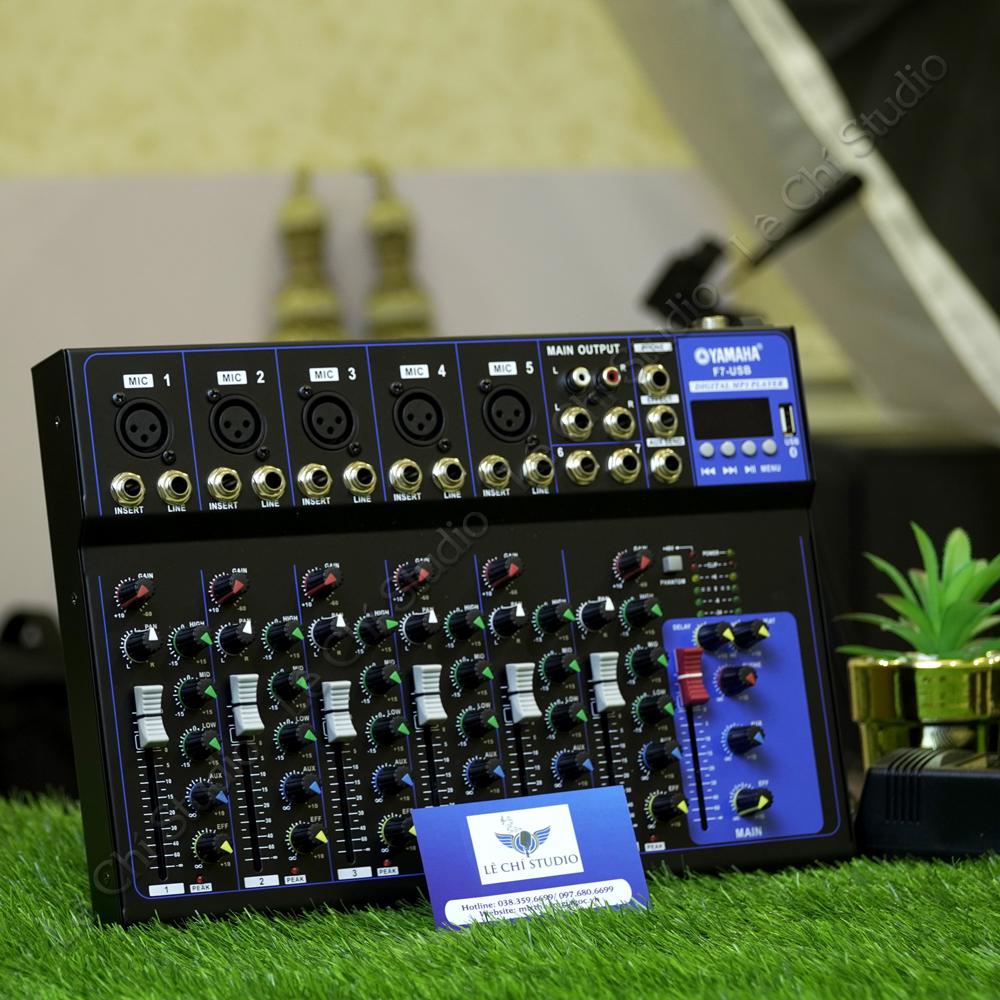 Mixer F7 Bluetooth - Giá 1.350k