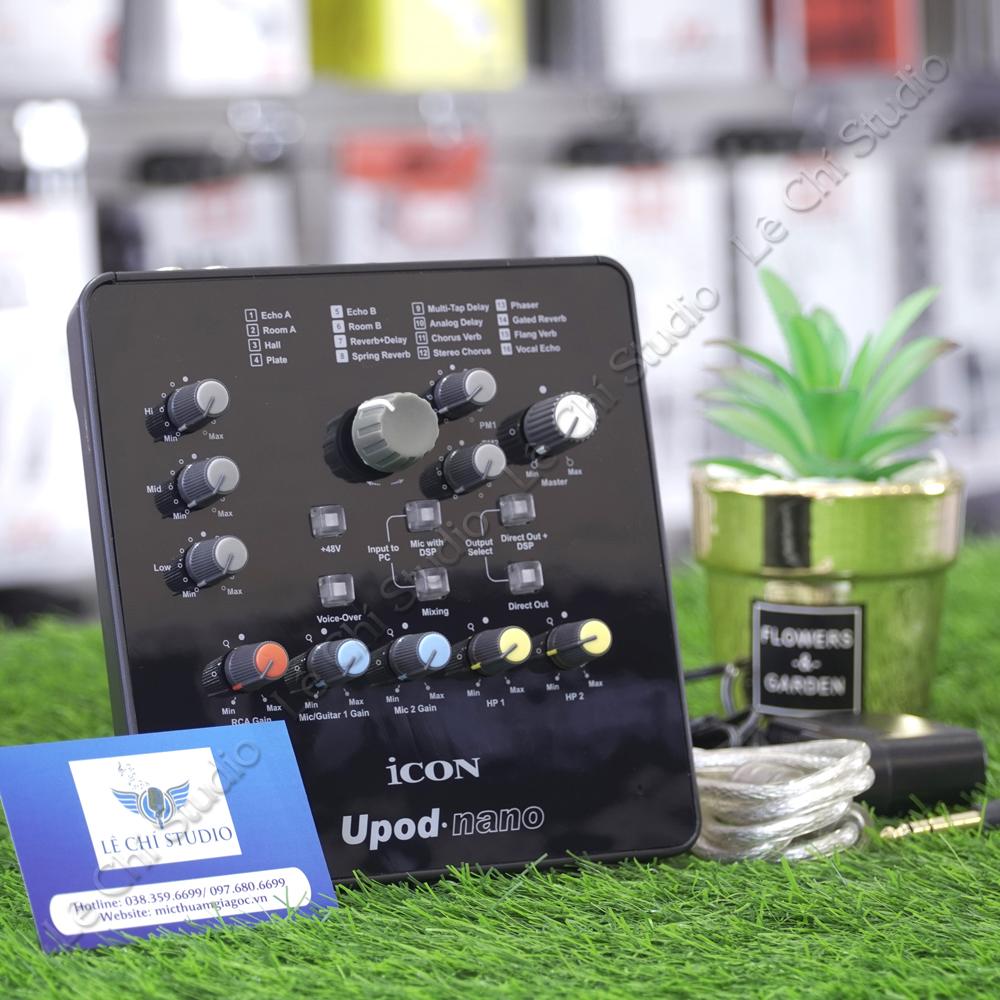 Soundcard Icon Upod Nano - Giá 1.650K