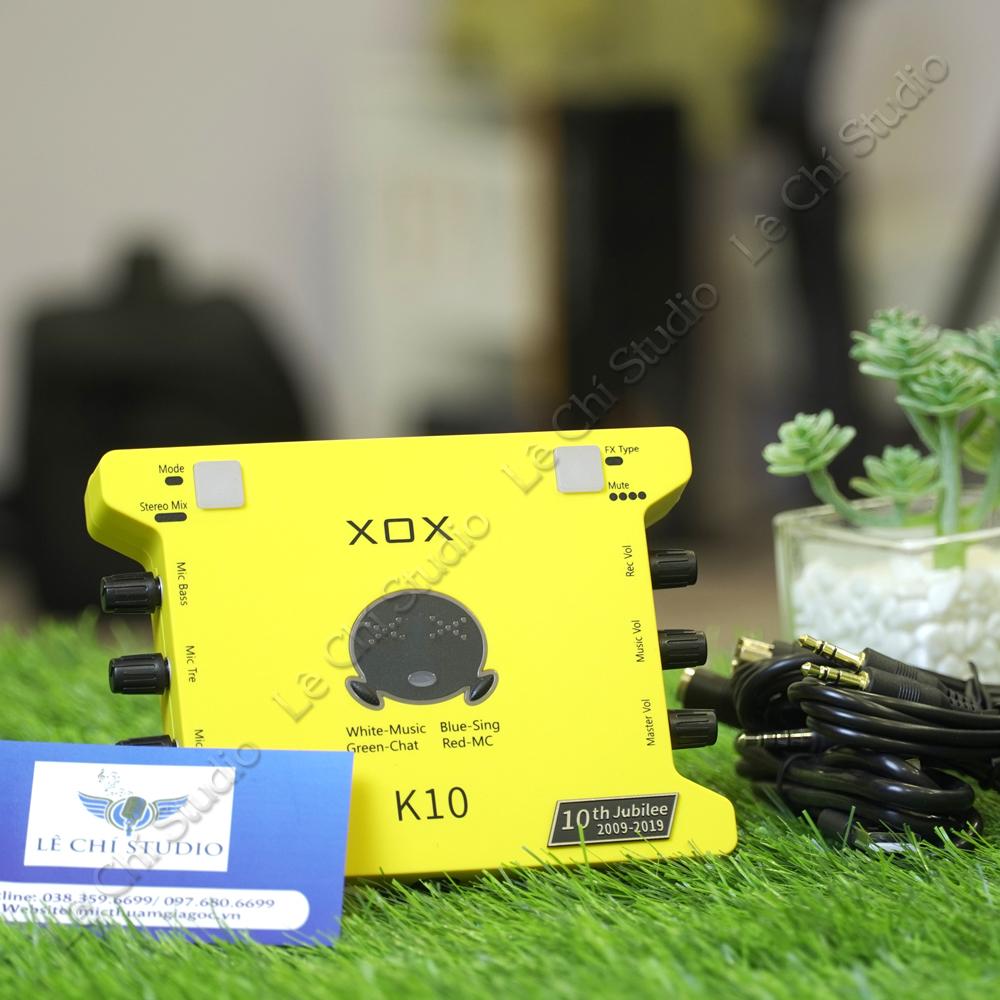 SoundCard XOX K10 2020 - Giá 890k