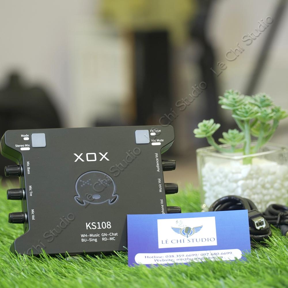 SoundCard XOX KS108 - Giá 820k