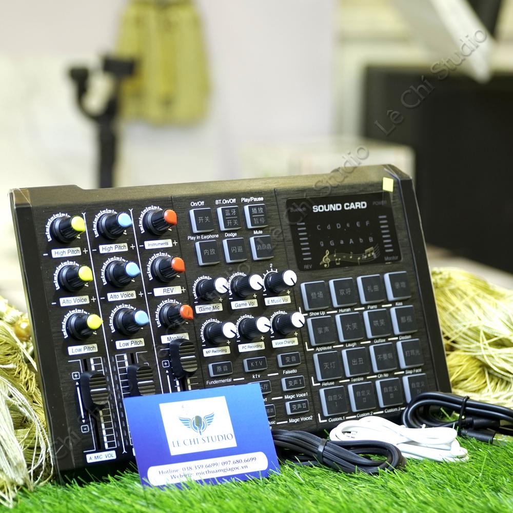 Soundcard S8 - Giá 660K