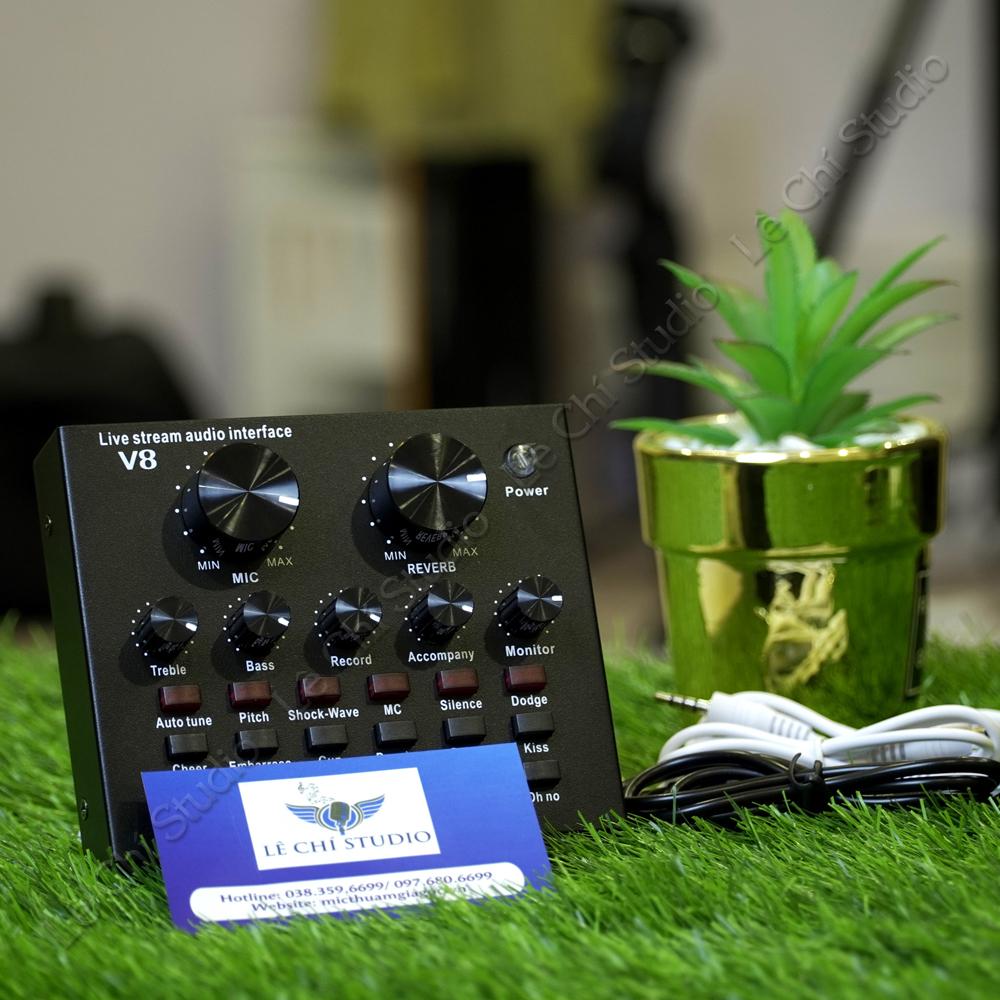 Soundcard V8 - Giá 280K