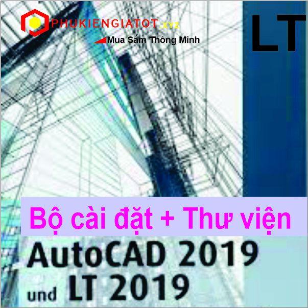 Bộ DVD AUTOCAD LT 2019 FULL - Bộ Thư Viện