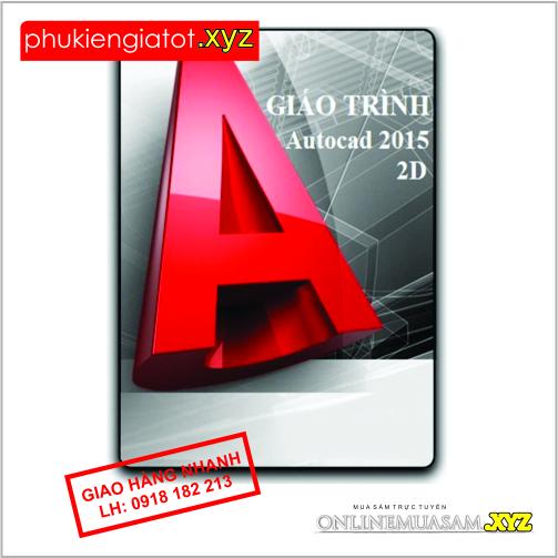 Bộ DVD AUTOCAD2015_ GIÁO TRÌNH DVD tự học FULL