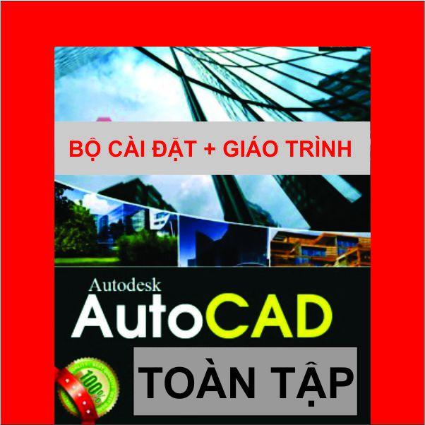 Bộ DVD AUTOCAD 2019_ Giáo Trình DVD & Mẫu (Cửa-Lan Can-cầu Thang)