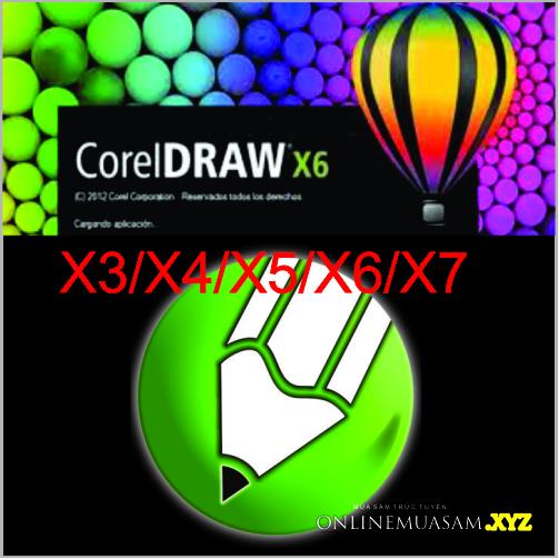 Bộ DVD COREL DRAW X3_4_5_6_7 _ Giáo Trình DVD tự học