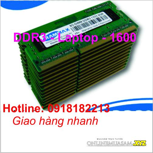 RAM Laptop  4GB DDR3L-1600 SODIMM 1.35V