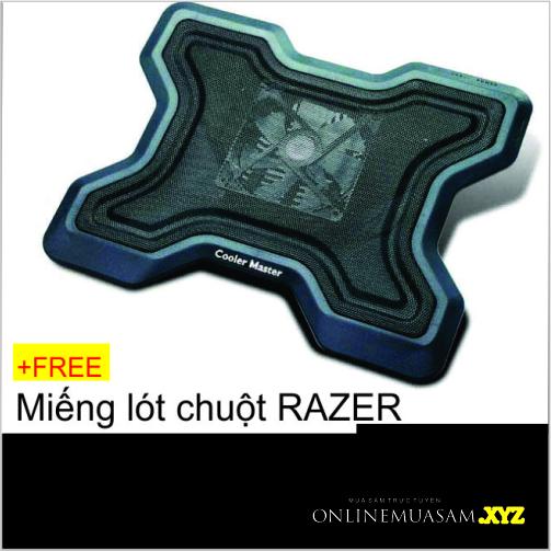 ĐẾ TẢN NHIỆT COOLER MASTER - KM Mousepad RAZER
