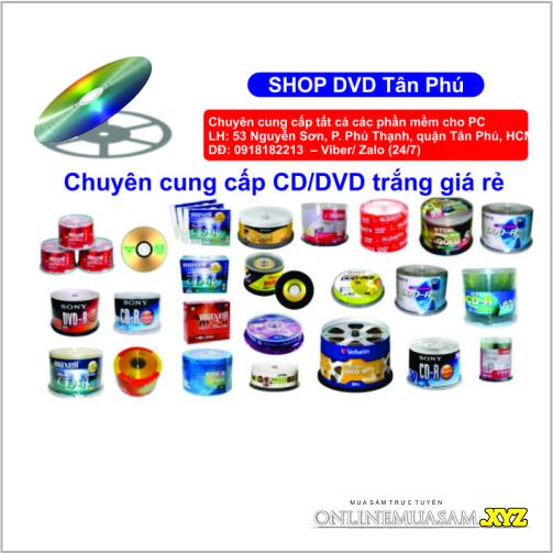 DVD Ahuang 16X Lốc 10 cái 4,7GB loại tốt