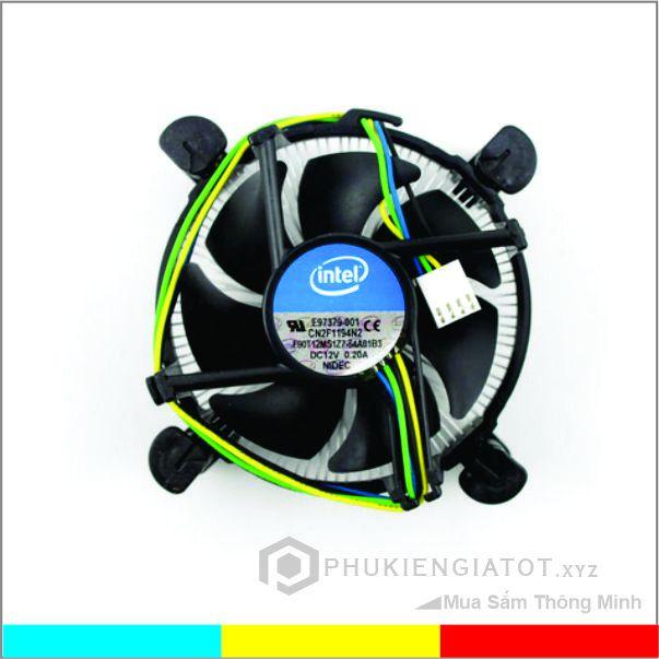 Quạt tản nhiệt CPU socket 1155, 1150, 1151, 1156 _ Fan zin giá rẻ