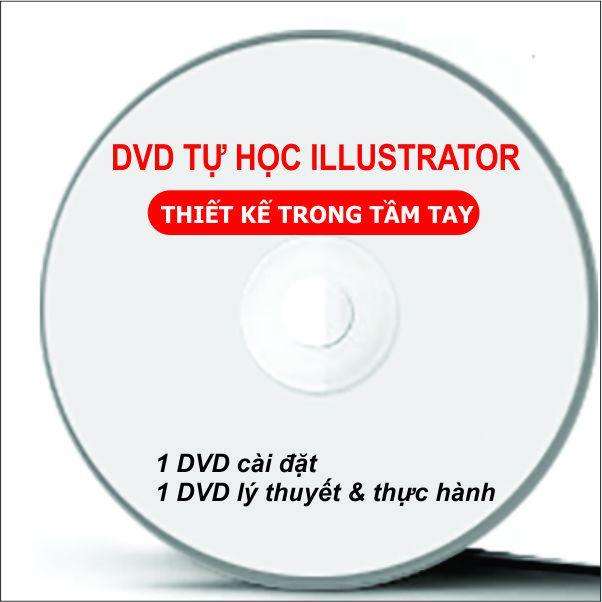 Bộ DVD Giáo Trình Học ILLUSTRATOR CC - DVD Setup