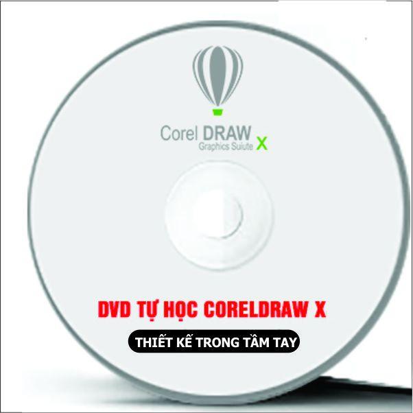 Bộ DVD Giáo Trình Học CorelDRAW X Full