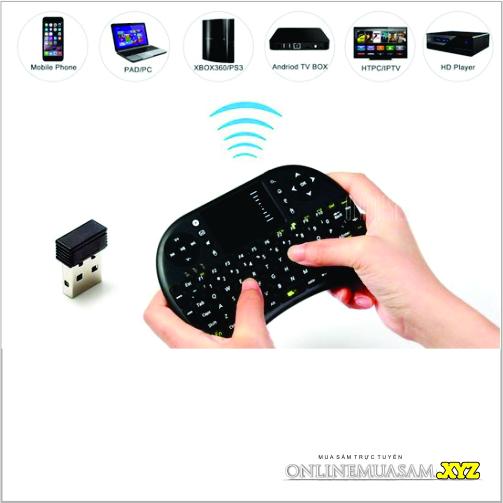 Bàn Phím Kiêm Chuột Wireless UKB-500