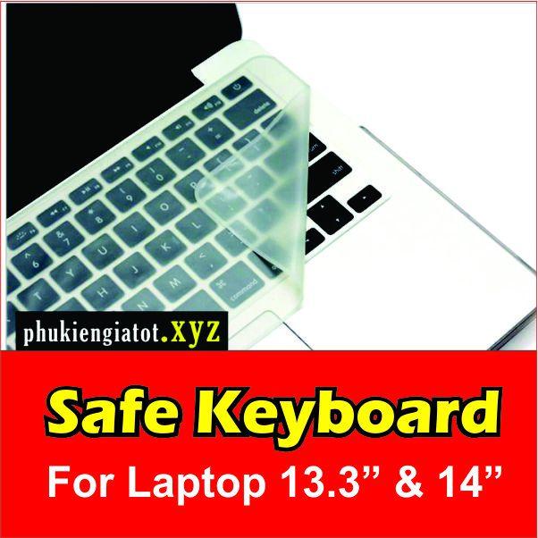 Miếng lót bảo vệ bàn phím trong suốt cho Laptop 13.3