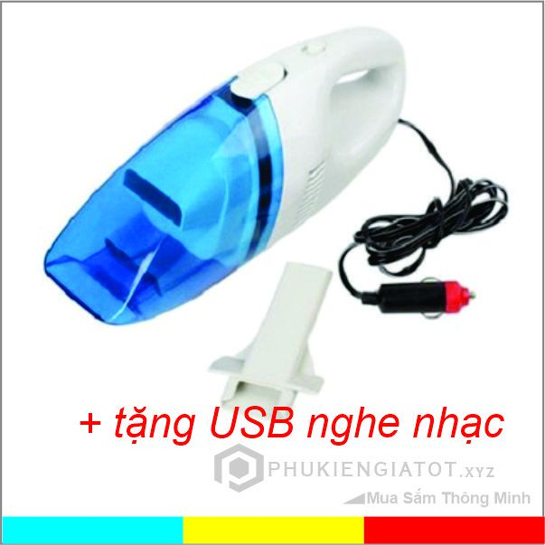 Máy hút bụi ô tô _ KM USB nghe nhạc 16GB - MHBOT20