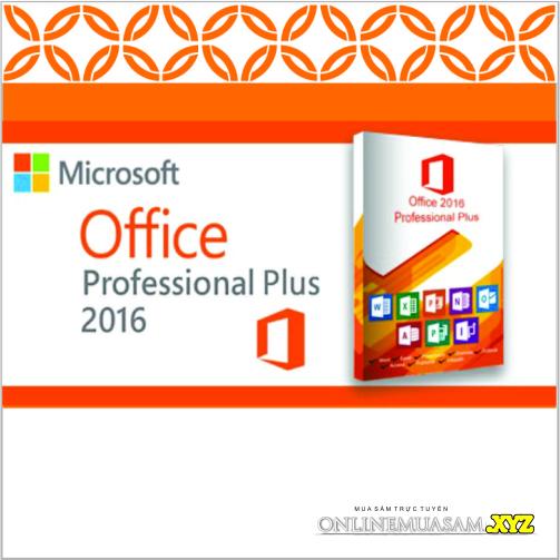 Bộ DVD OFFICE 2016 ALL