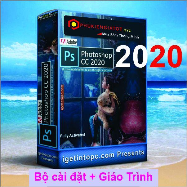 Bộ DVD Photoshop 2020 Active + Giáo Trình FULL