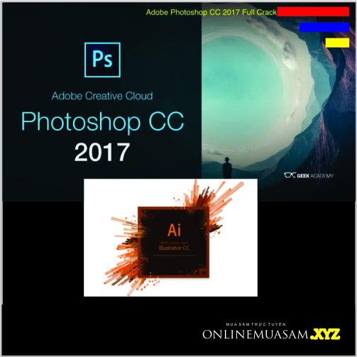 Bộ đĩa Photoshop & Illustrator CC2017_ Giáo trình DVD tự học