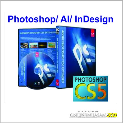 Bộ DVD Photshop_AI_ InDesign CS5 chuẩn_ Giáo Trình