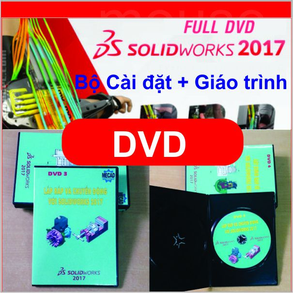 Bộ DVD Solidworks 2017 Full
