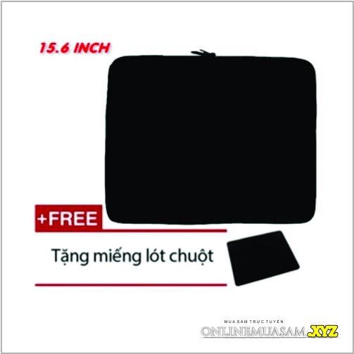 Túi chống sốc cho laptop 15 inch & 15.6 inch + Tặng bàn di chuột siêu dày